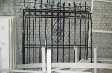Заготовка для распашных ворот