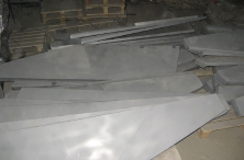 Пескоструйная очистка металлических листов