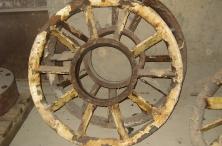 Колесо до пескоструйной обработки